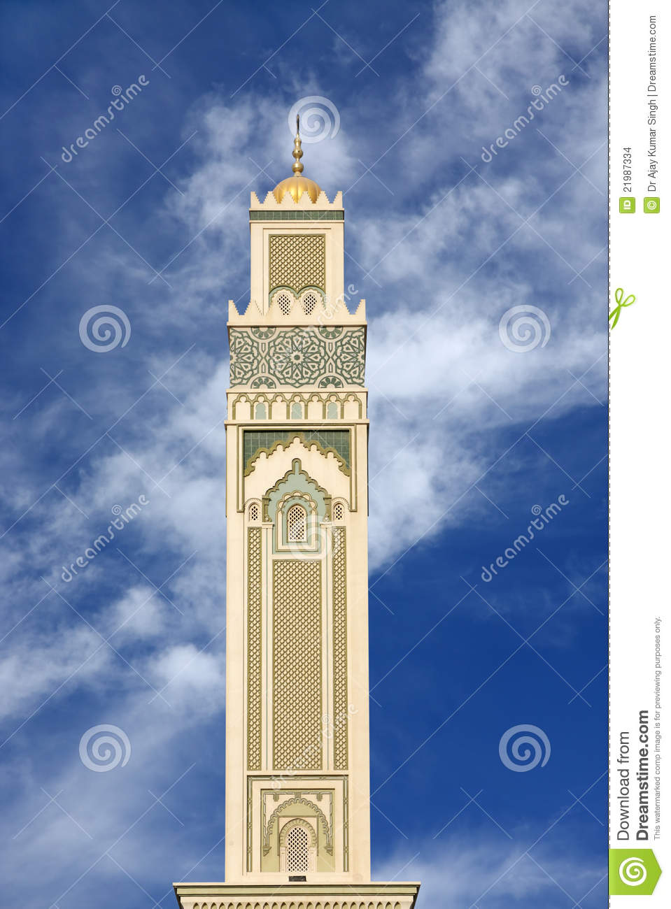 Minaret of shaikha kanoo mosque bahrain stock images for United international decor bahrain