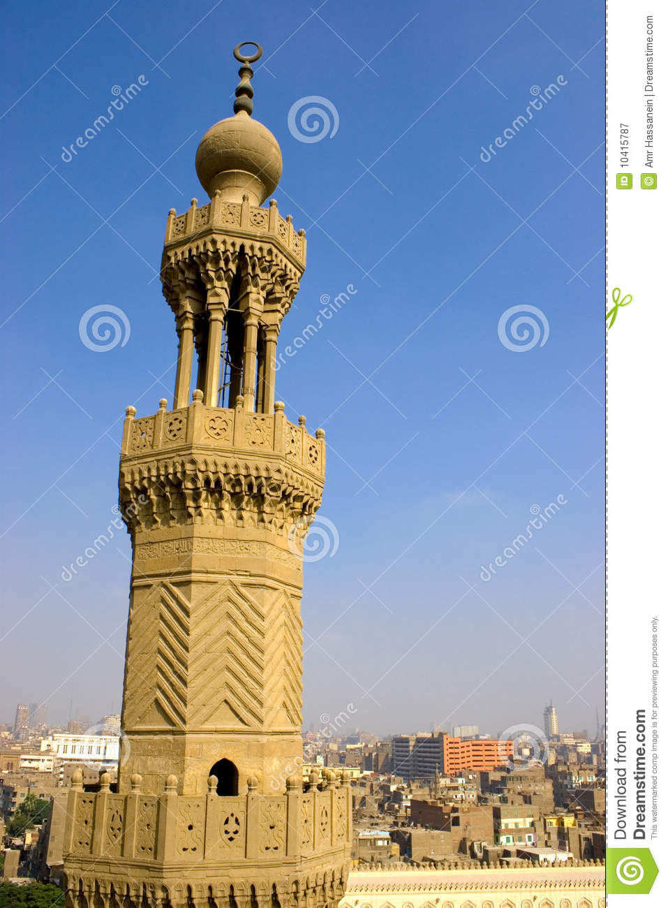 The Minaret Of Zuweila Stock Image Image Of Islam Copy