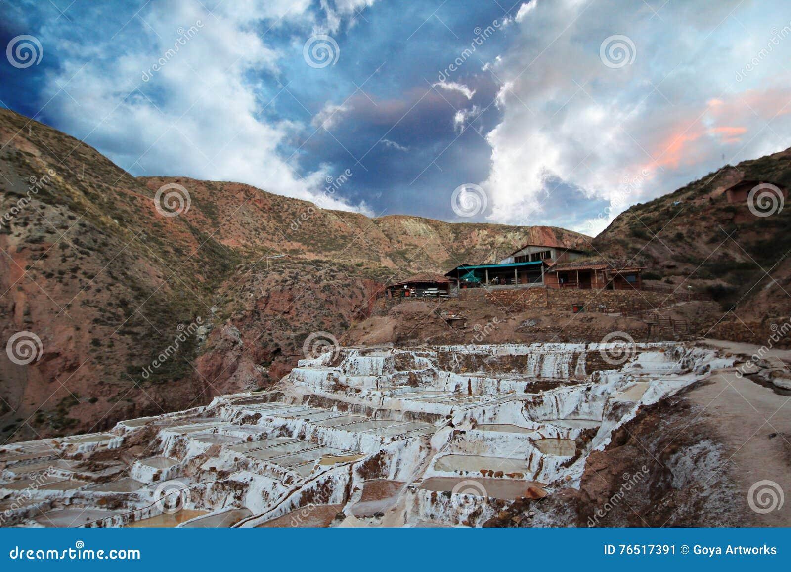 Minas de sal no Peru