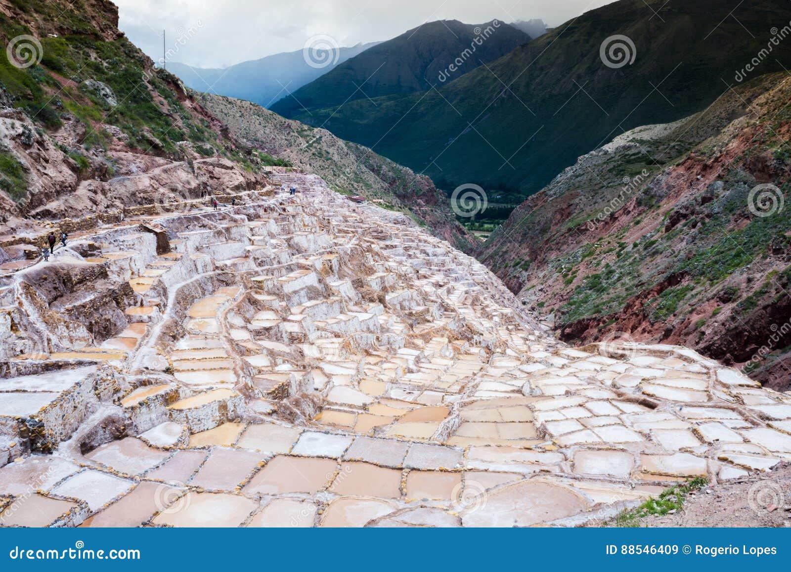 Minas de sal, Peru