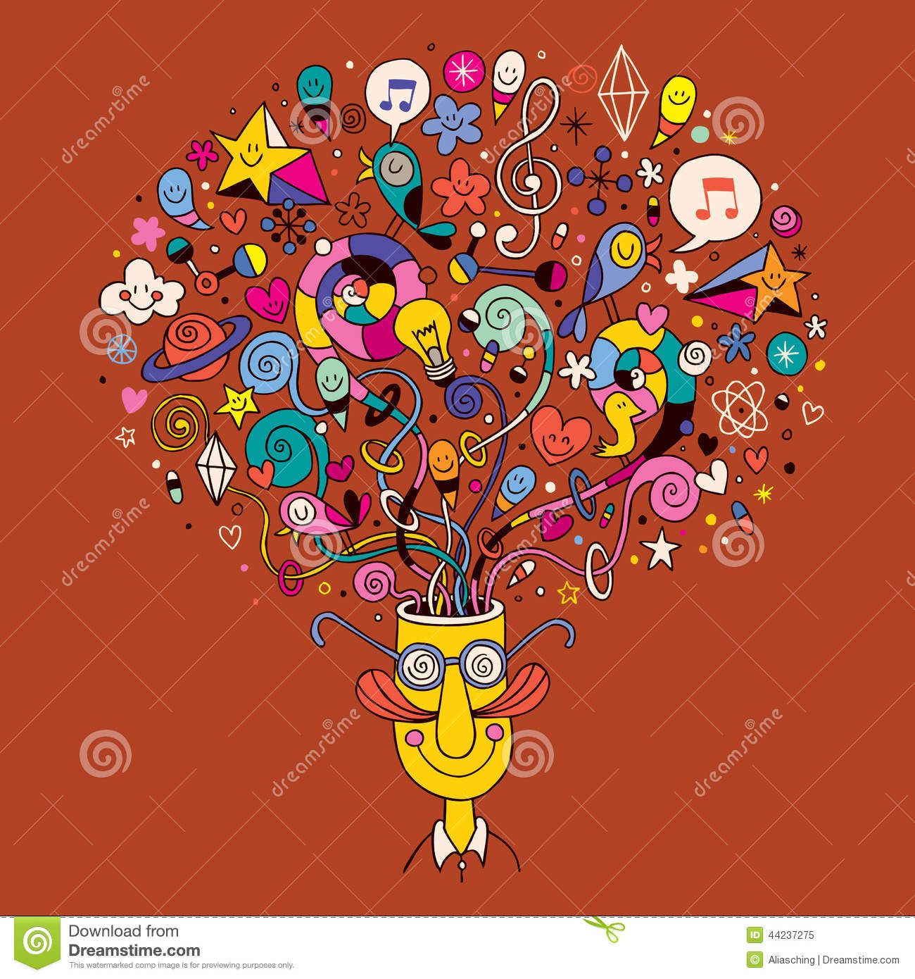 Mind Blown Stock Vector  Image: 44237275