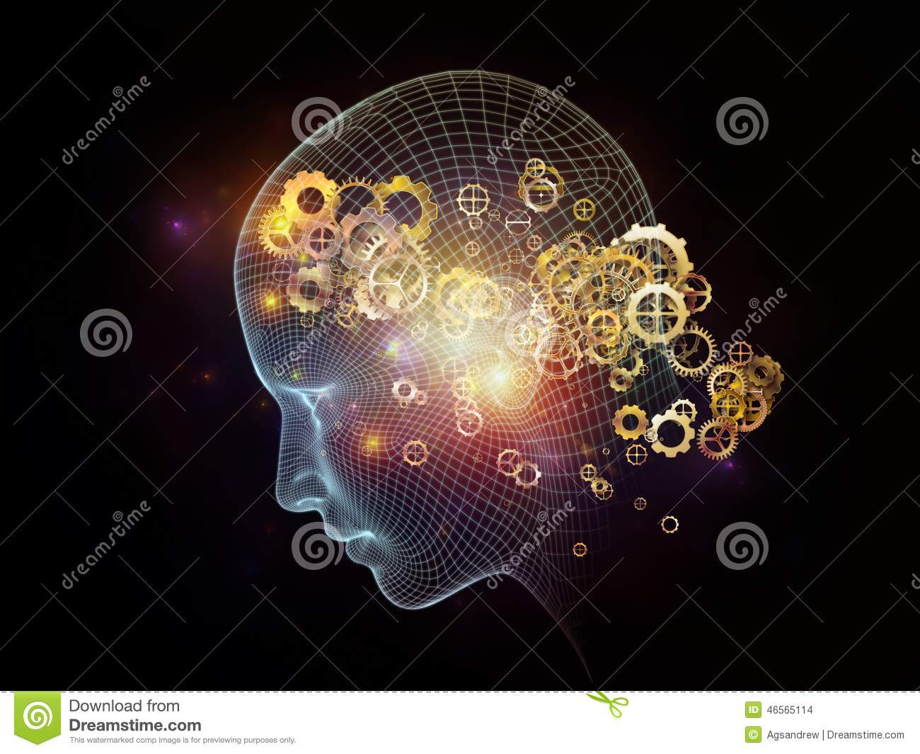 Mind Design Stock Photo Image Of Intelligence Cyberspace