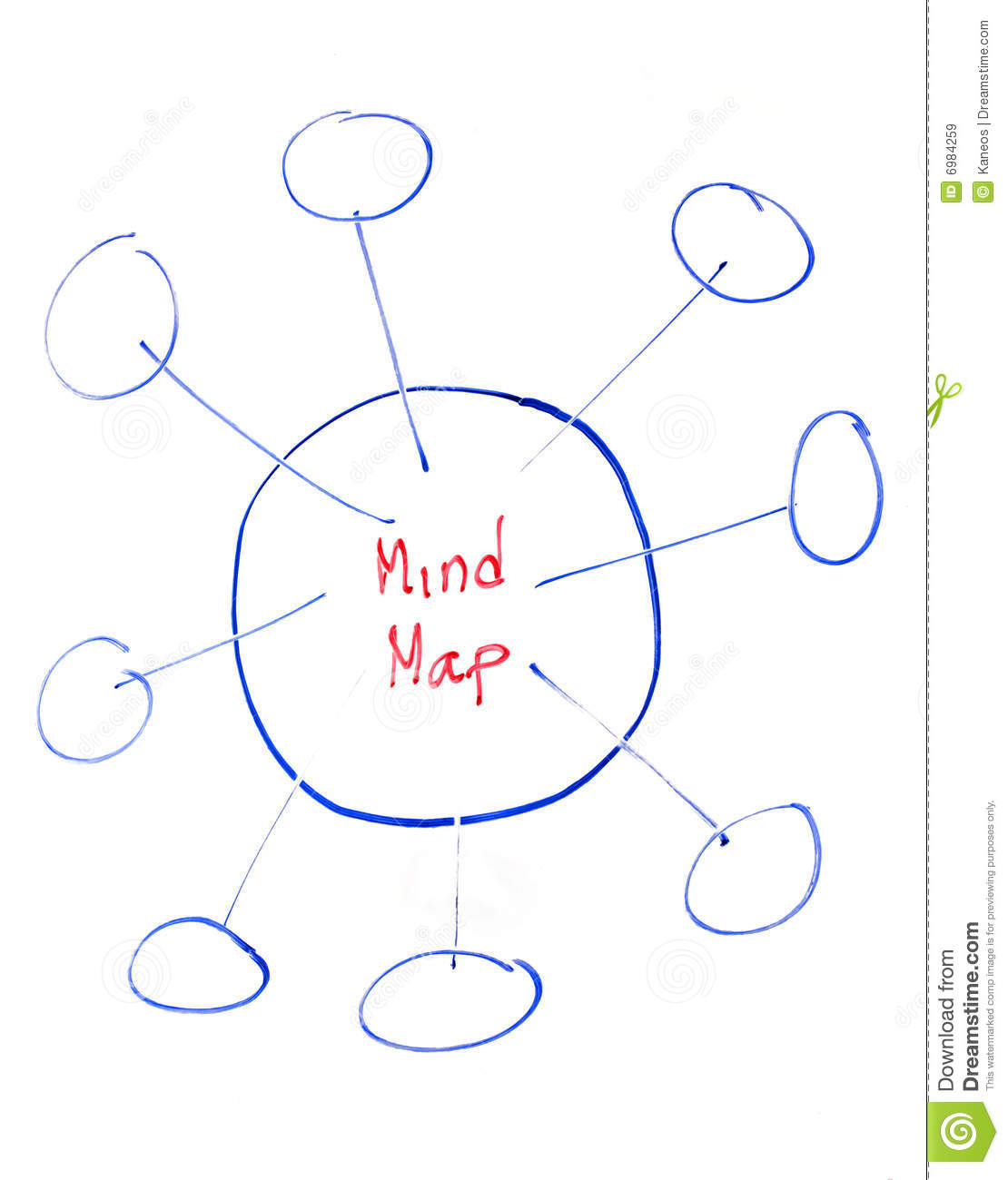 Mind Map Royalty Free Stock Images  Image: 6984259