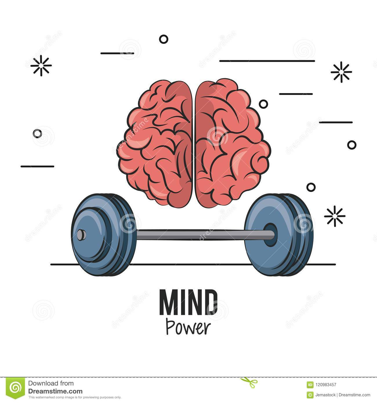 Mind power and brain