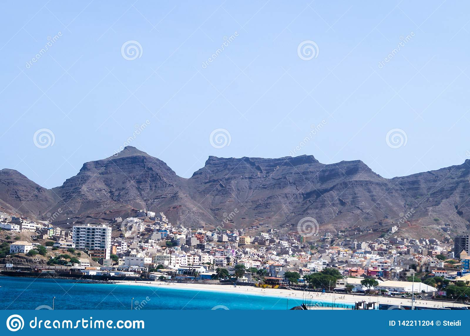 Mindelo Sao Vicente Cabo Verde Foto De Archivo Imagen