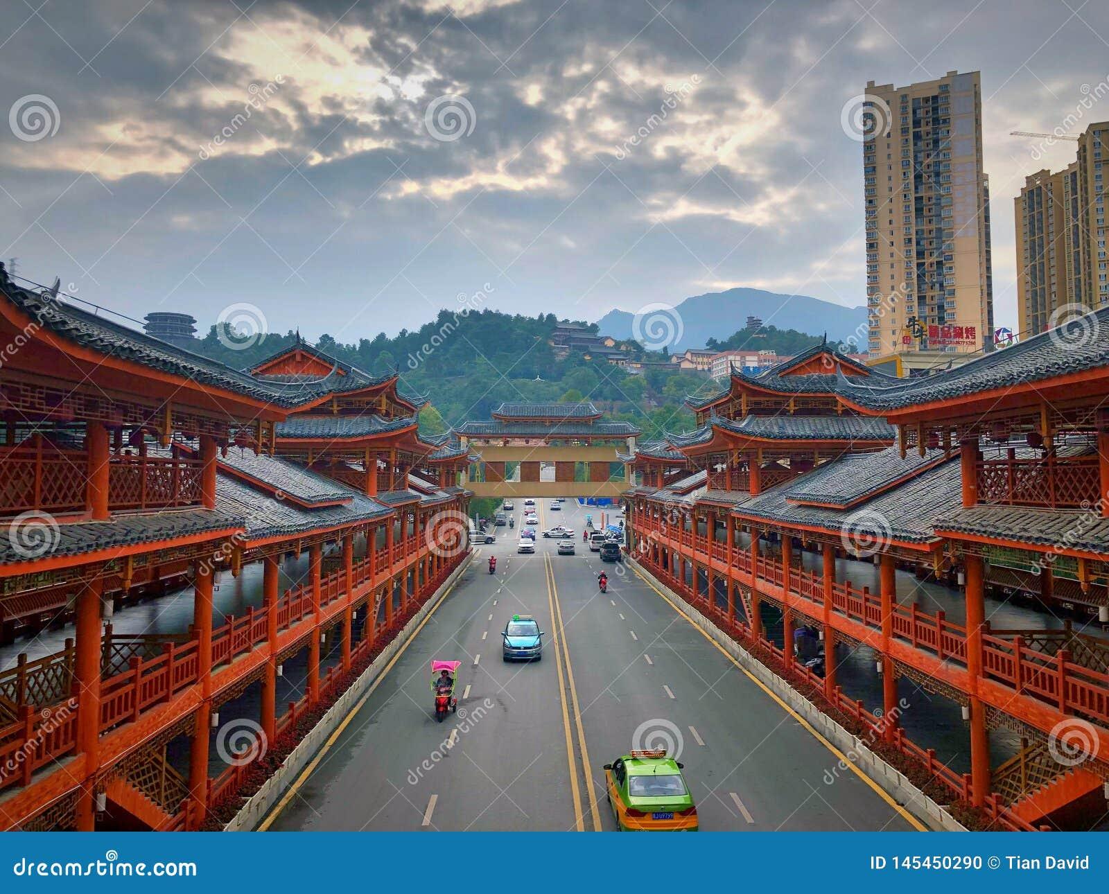 Minderheidsarchitectuur in China
