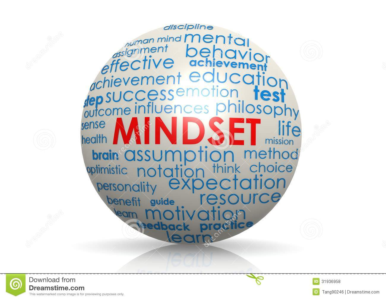 Mindset Sphere Royalty Free Stock Photos - Image: 31936958