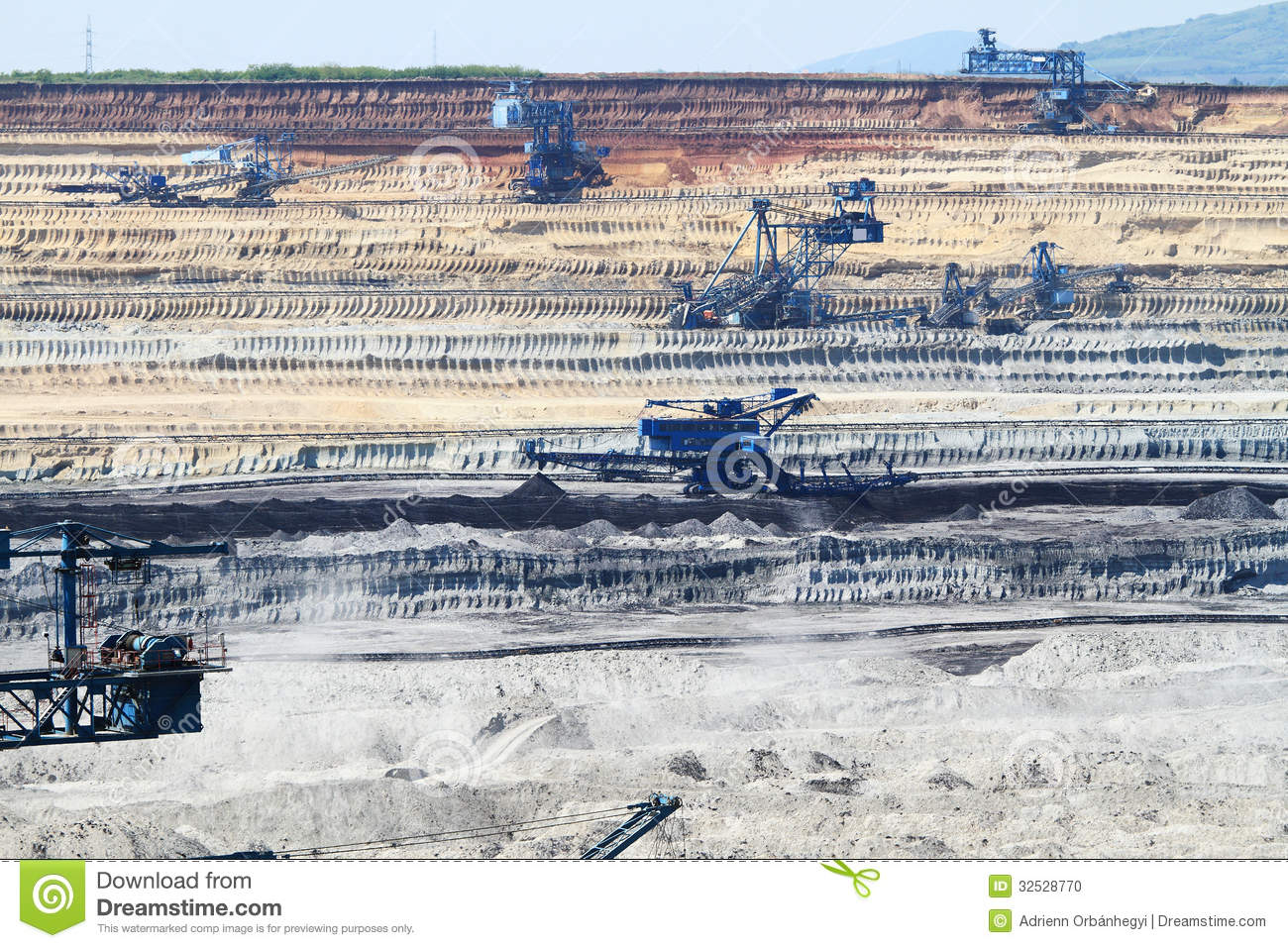Mine Stock Photo Image 32528770