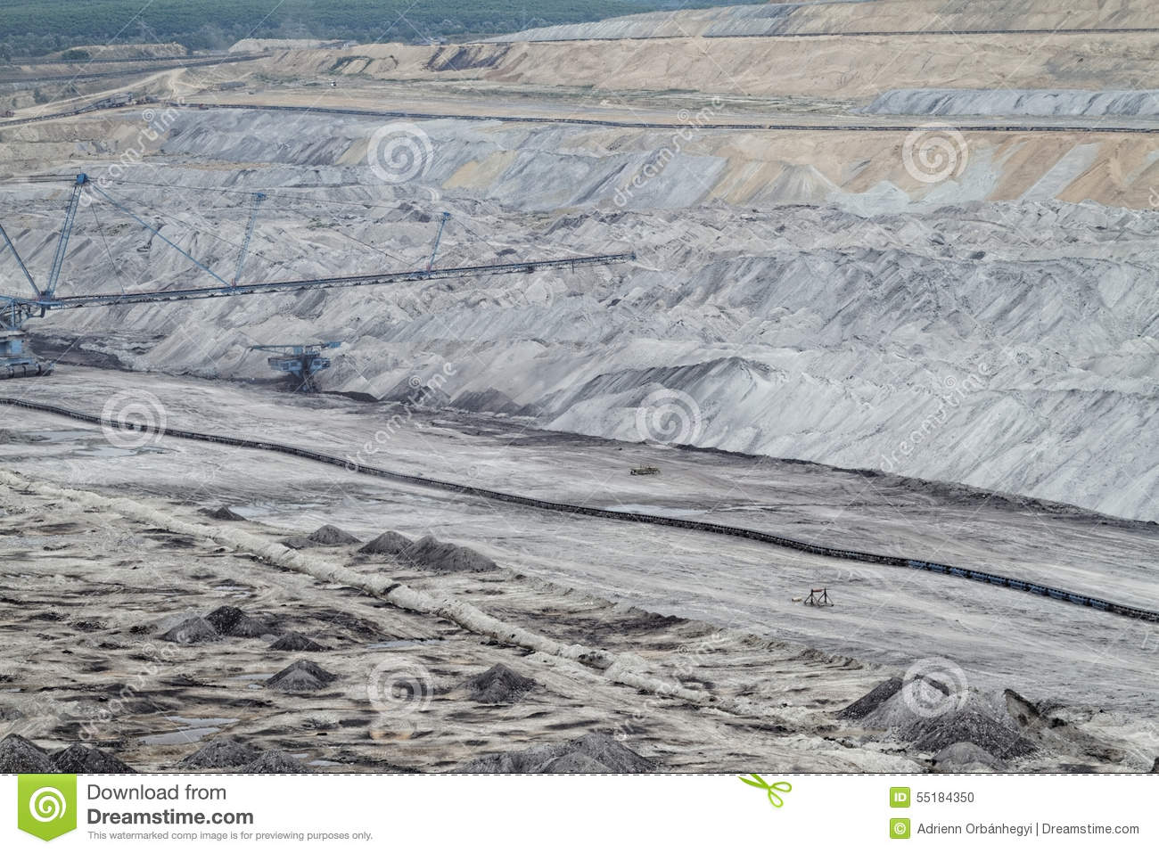 Mine Stock Photo Image 55184350