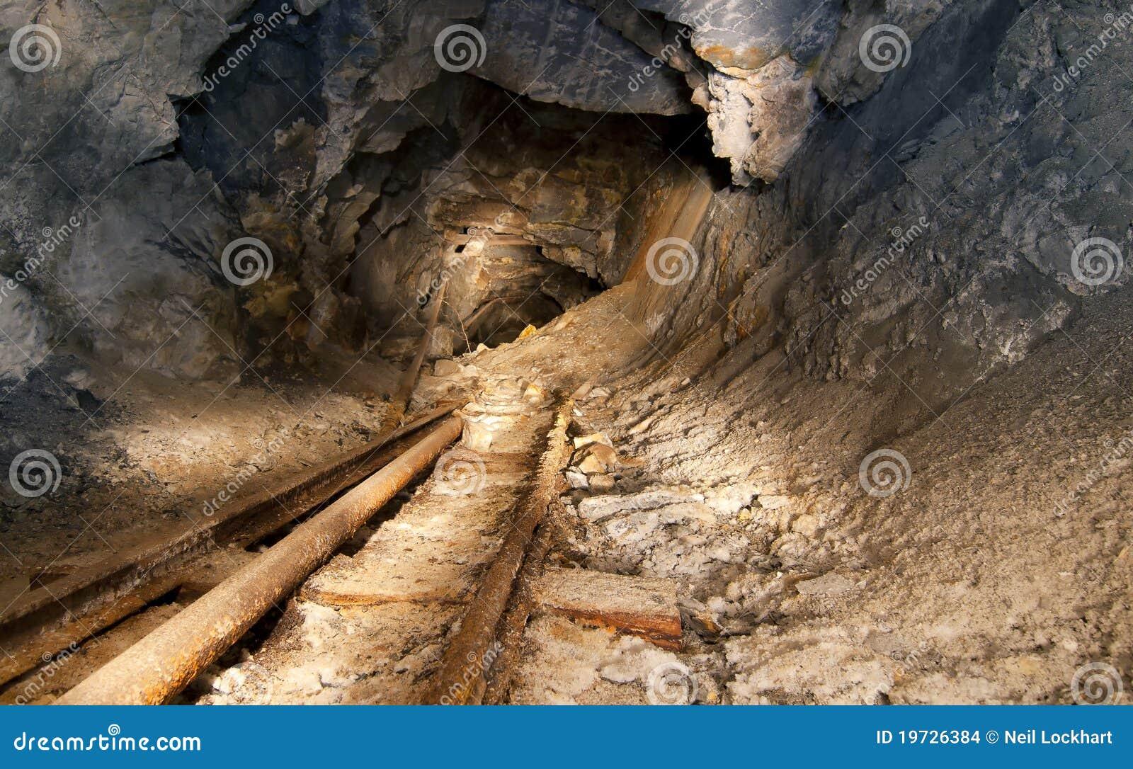 Mine d or abandonnée