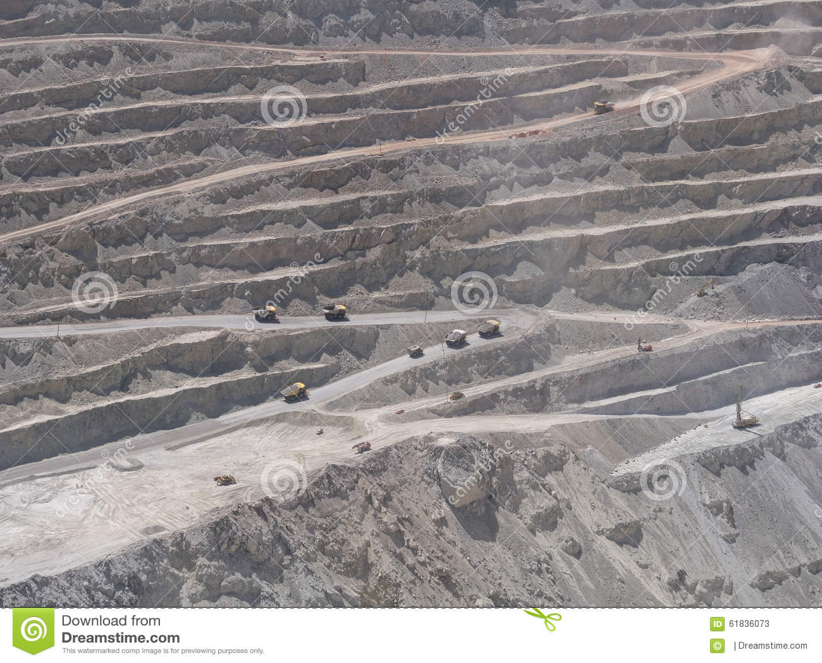 Mine de cuivre au Chili