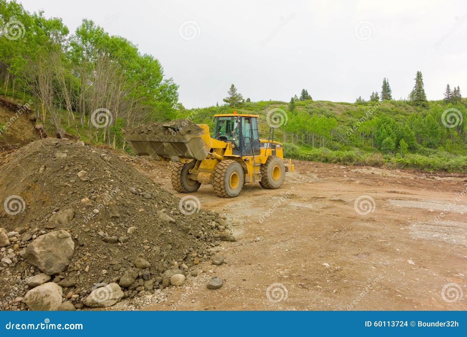 Mineração de Placer em uma reivindicação pequena nos territórios yukon