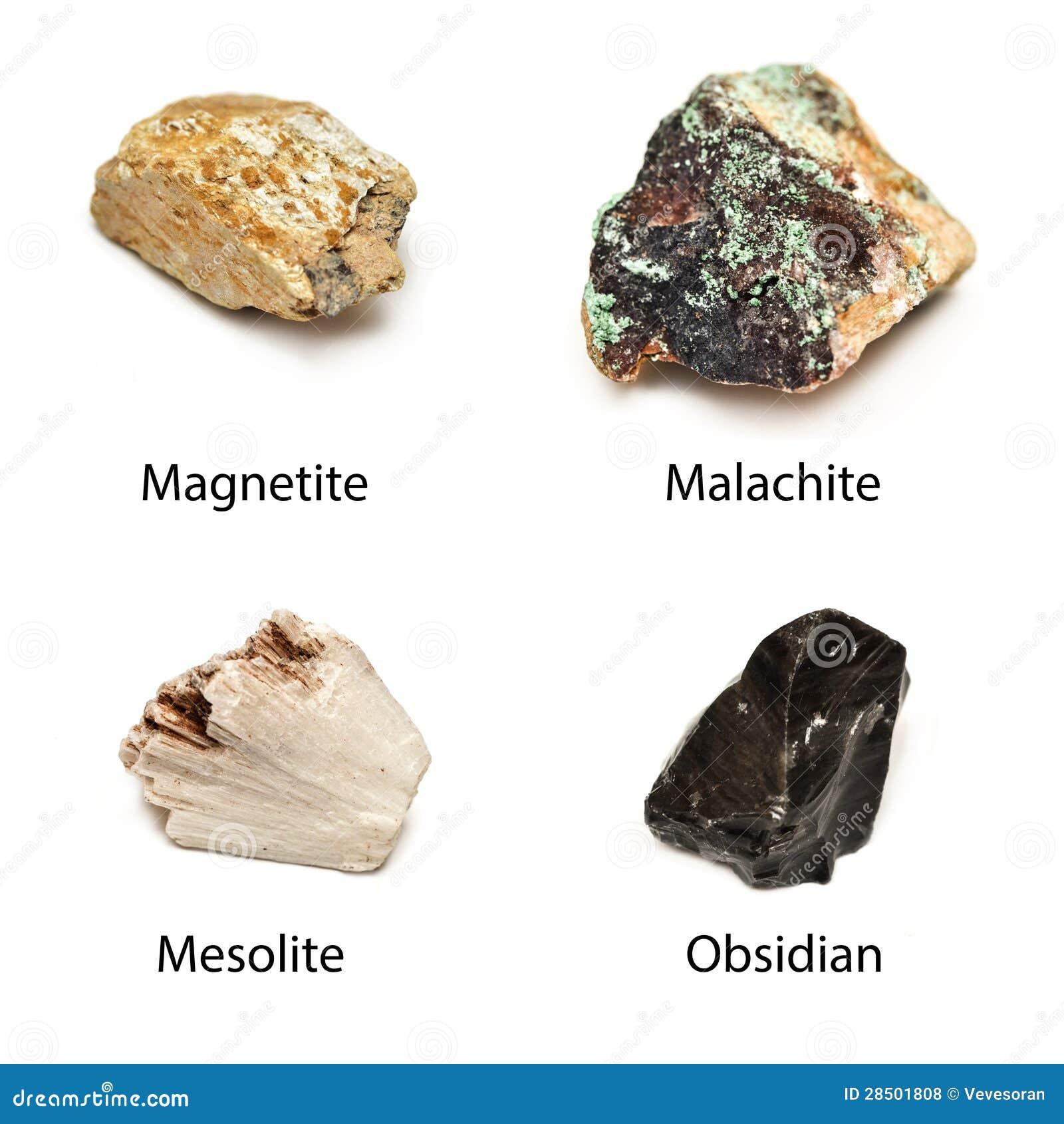 Minerais crus