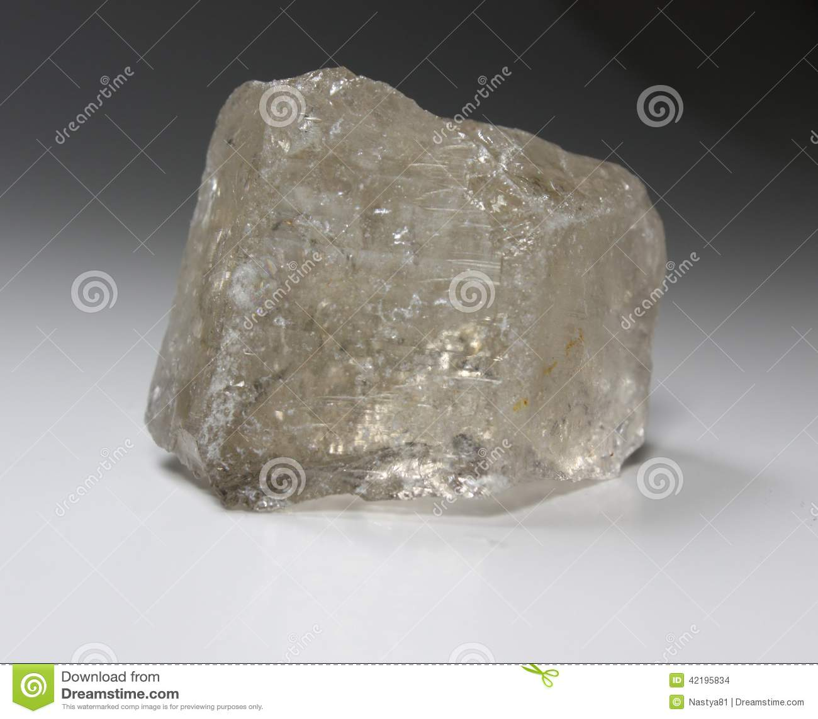 Mineral For Rokig Kvarts Rauchtopaz Arkivfoto Bild Av