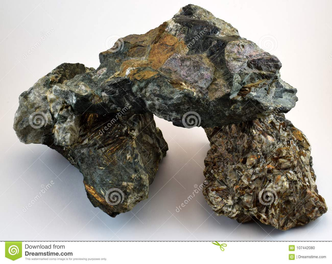 the mineral is mined in the mountains of khibiny stock photo image