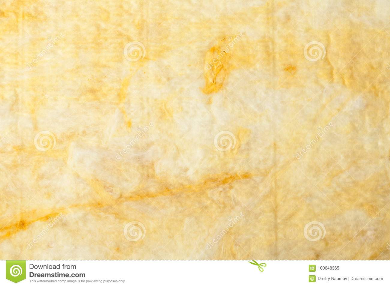Mineral Wool Thermal Insulation Textured Background Stock