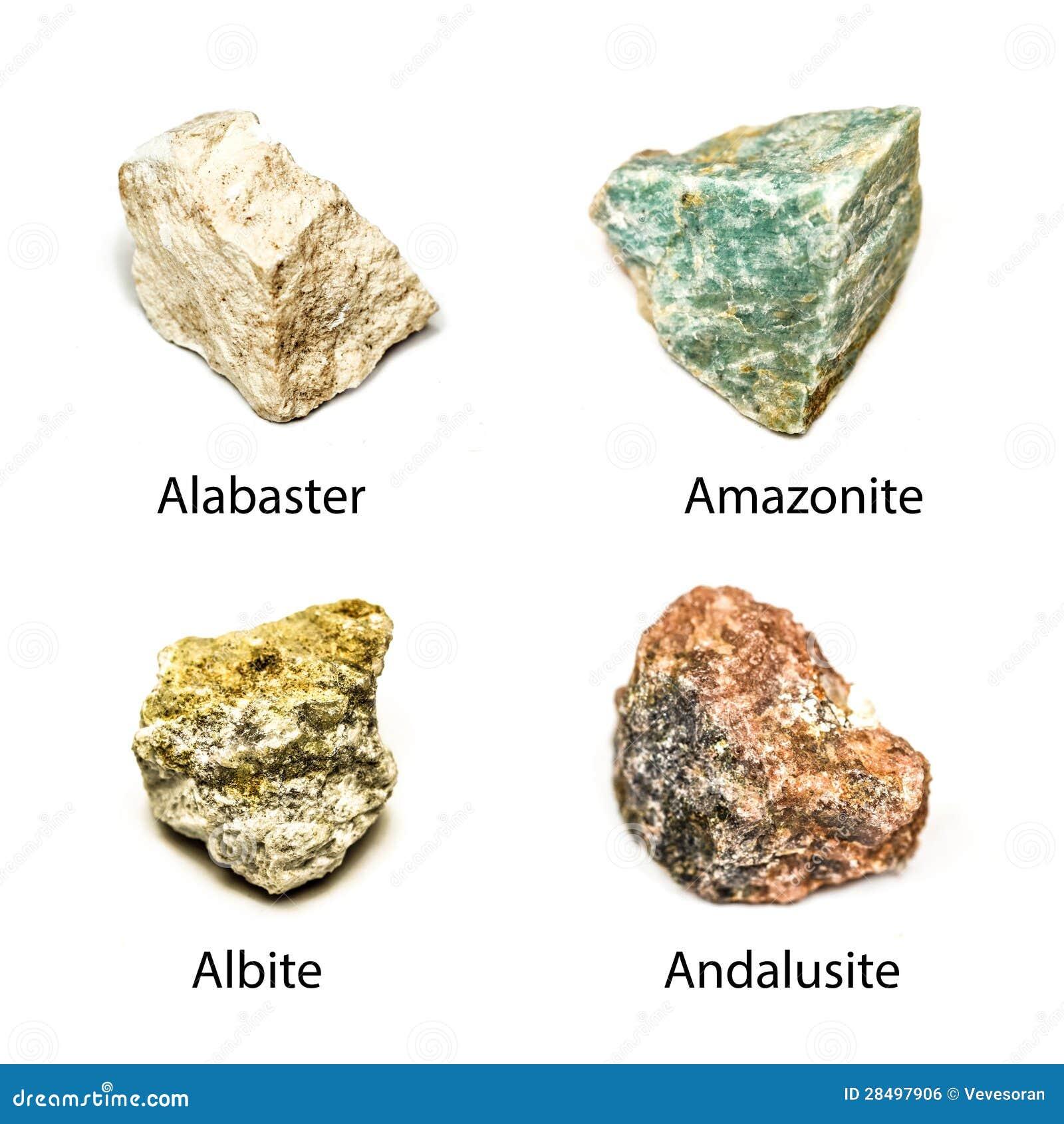 Minerales sin procesar