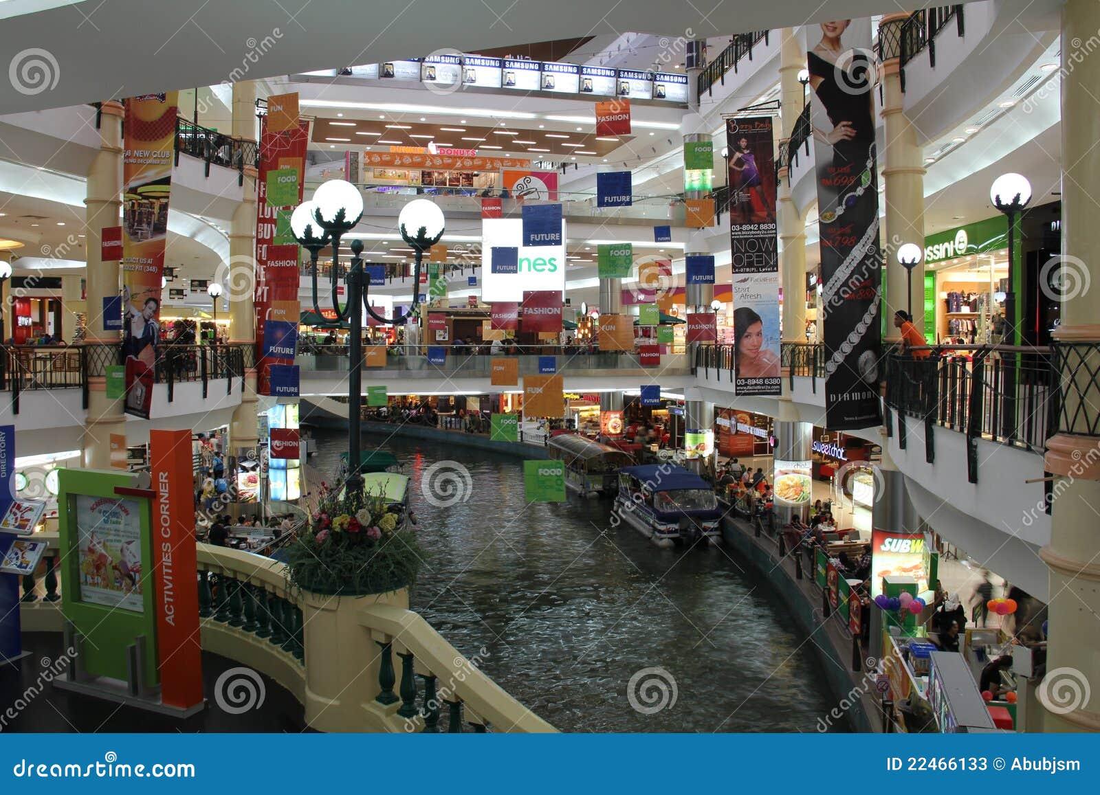 The Mines Shopping Mall Kuala Lumpur Editorial Stock