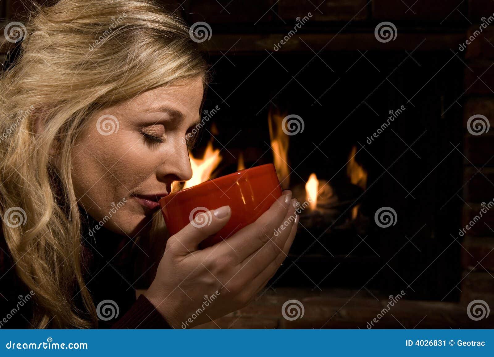 Minestra bevente dal fuoco
