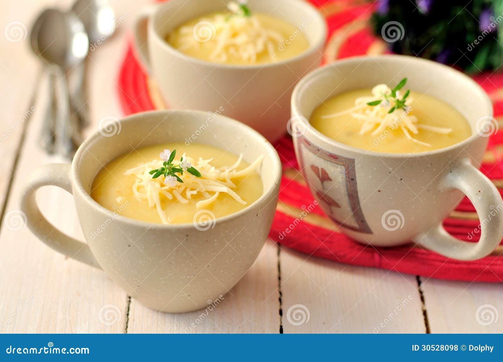 Minestra crema di patate