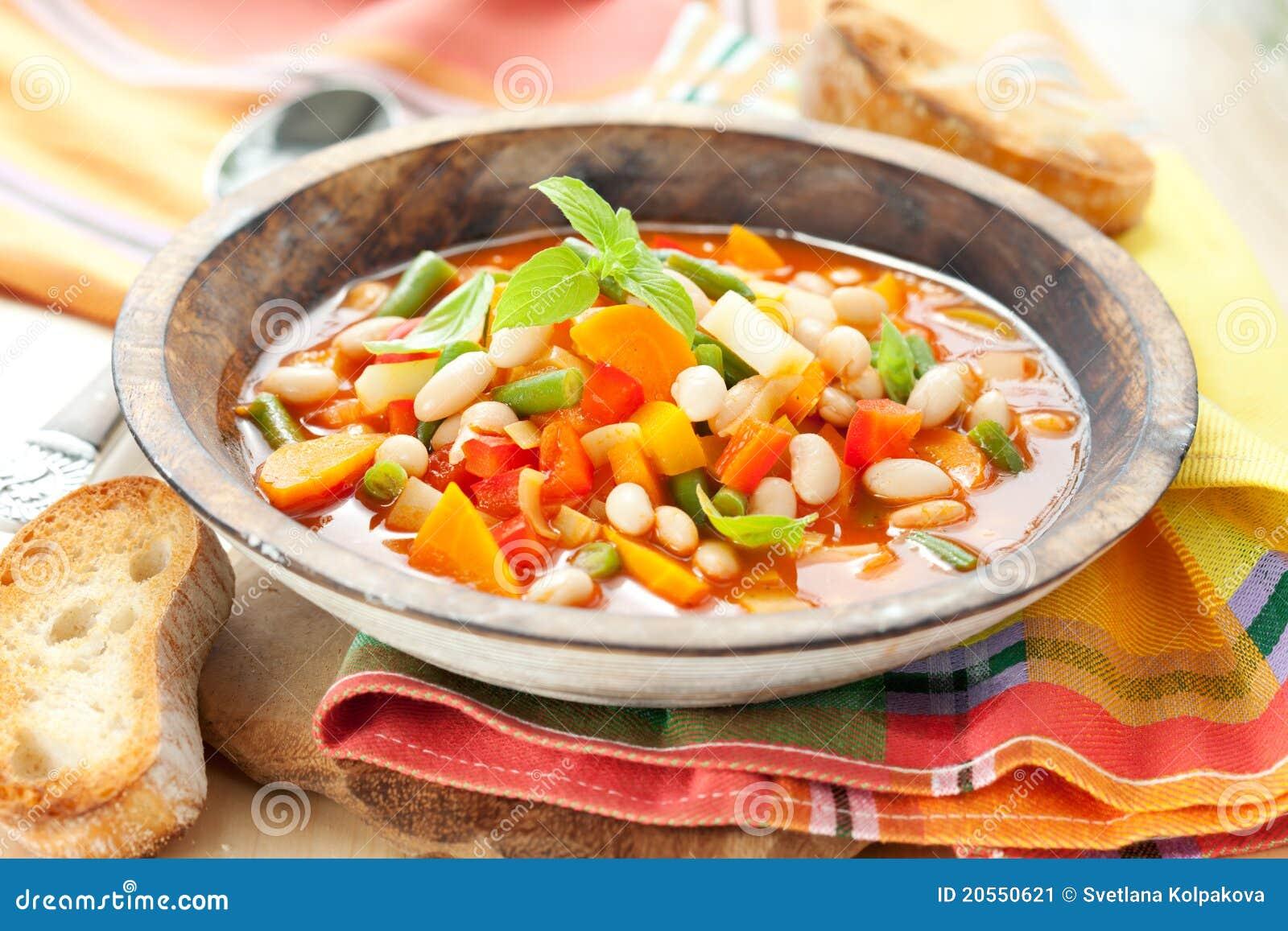 Приготовить минестроне овощной рецепт
