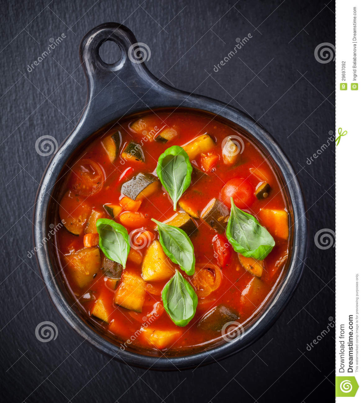 Minestrone Soup Dinner Royalty-Free Stock Photo | CartoonDealer.com ...