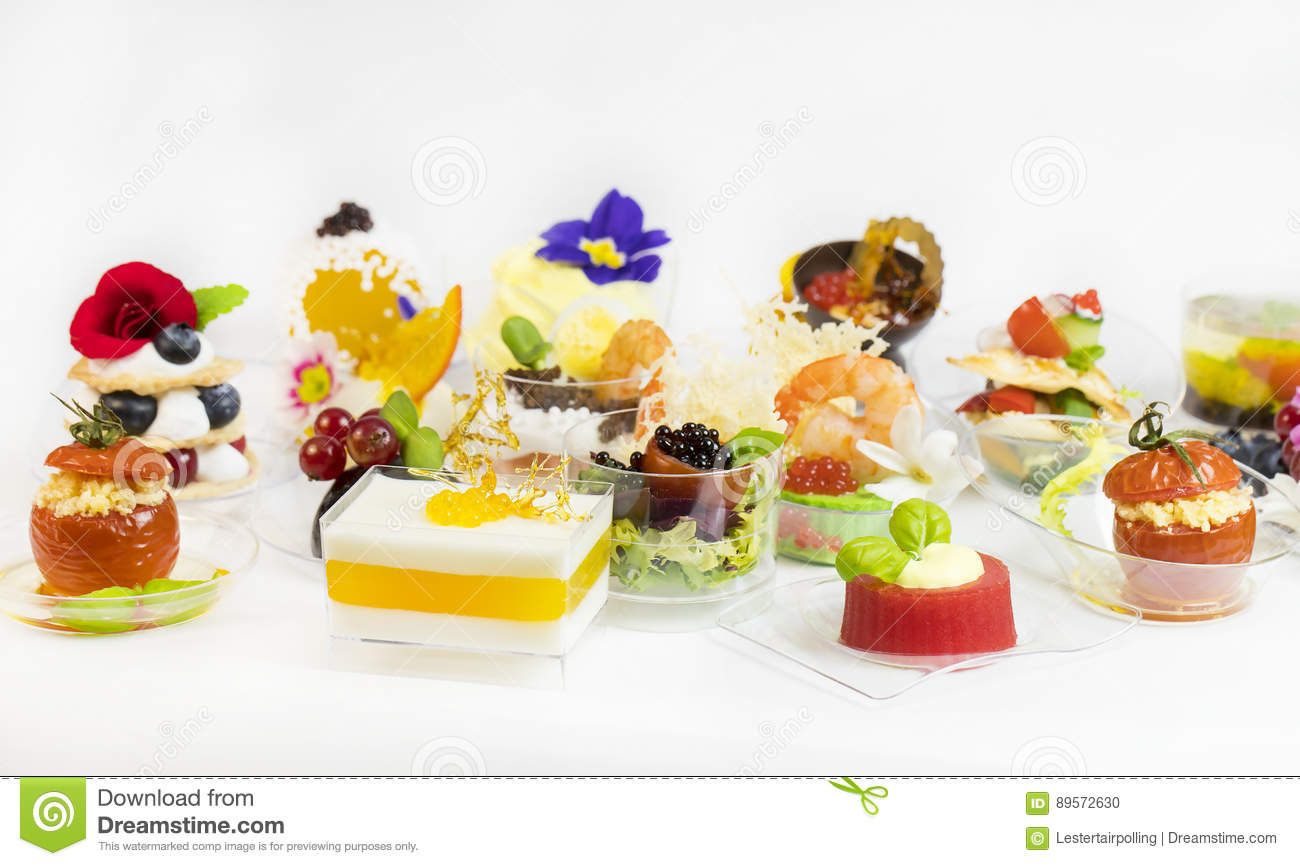 download mini canape with elements of molecular kitchen stock photo image of flowers food - Mini Canape