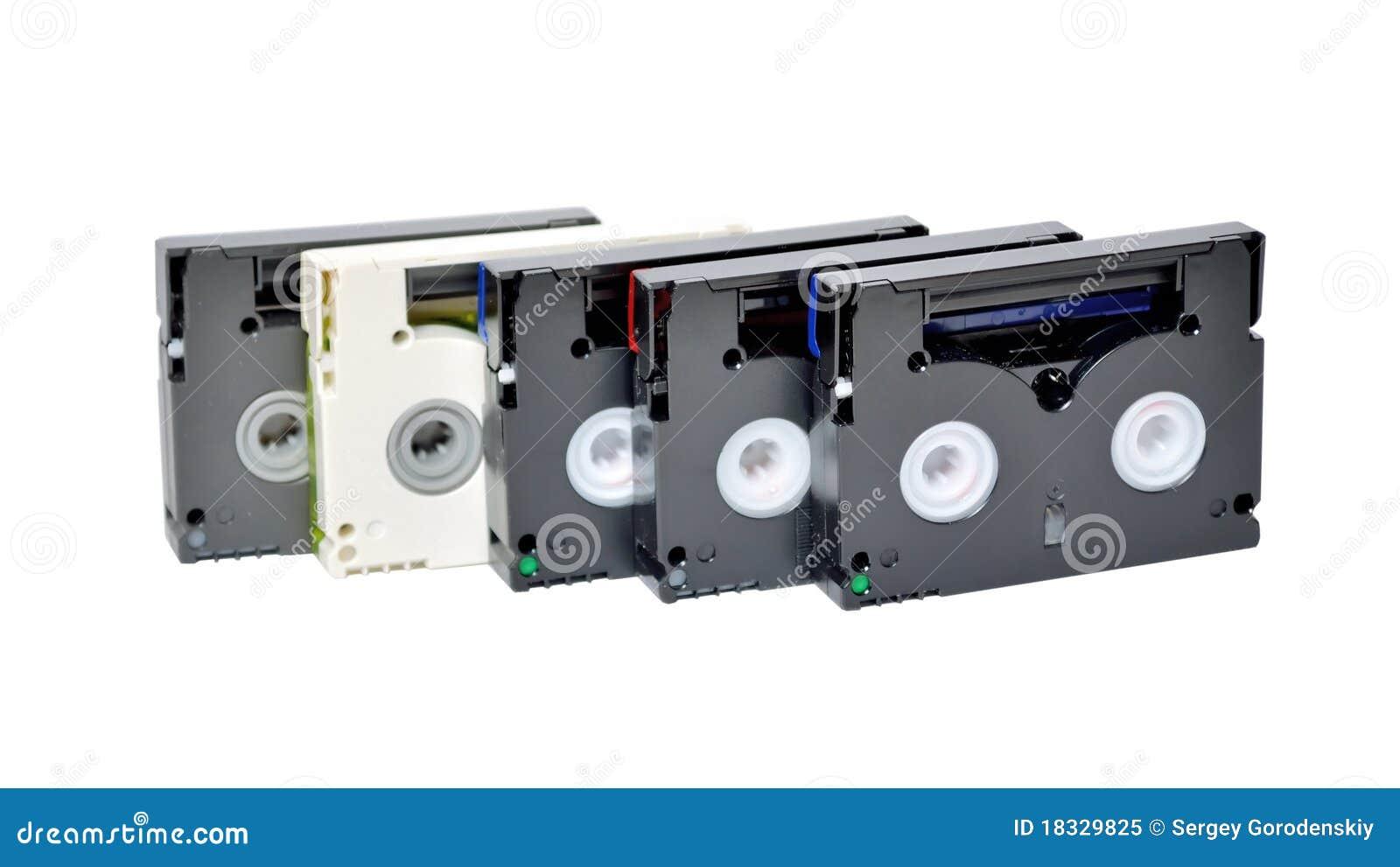 Mini cassettes de DV