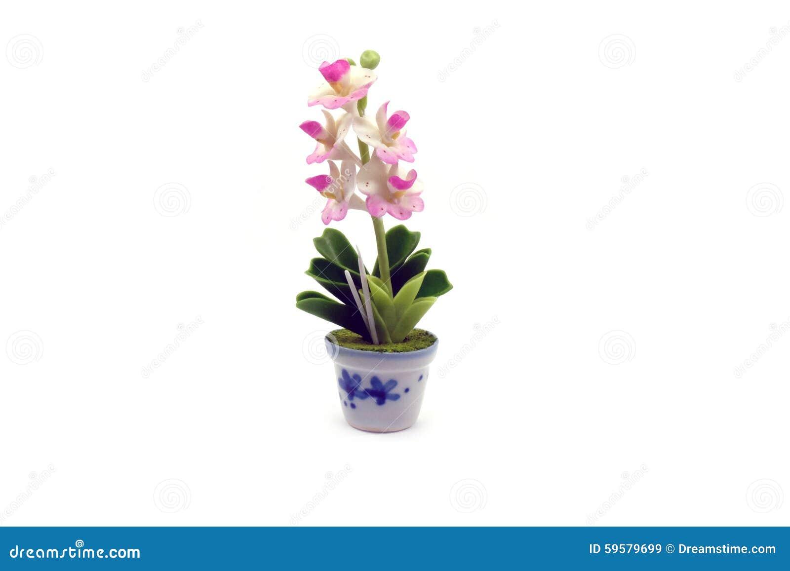 how to make mini clay flowers
