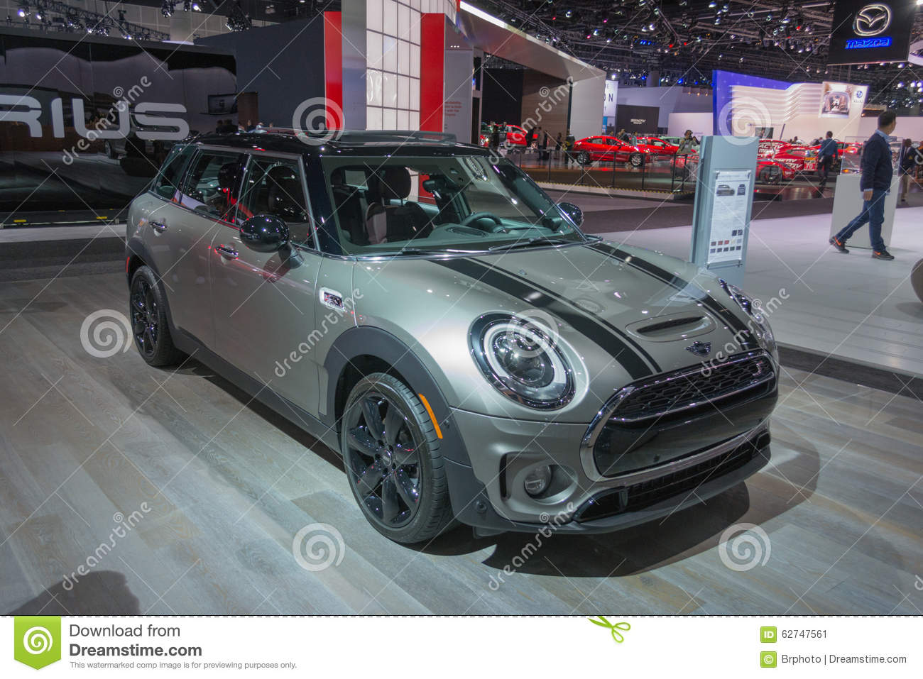 Mini clubman on display editorial photo image 62747561 for Dream motors los angeles