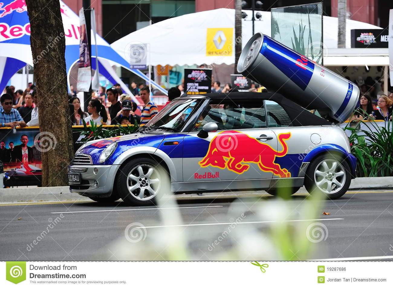 How To Drive The Red Bull Car