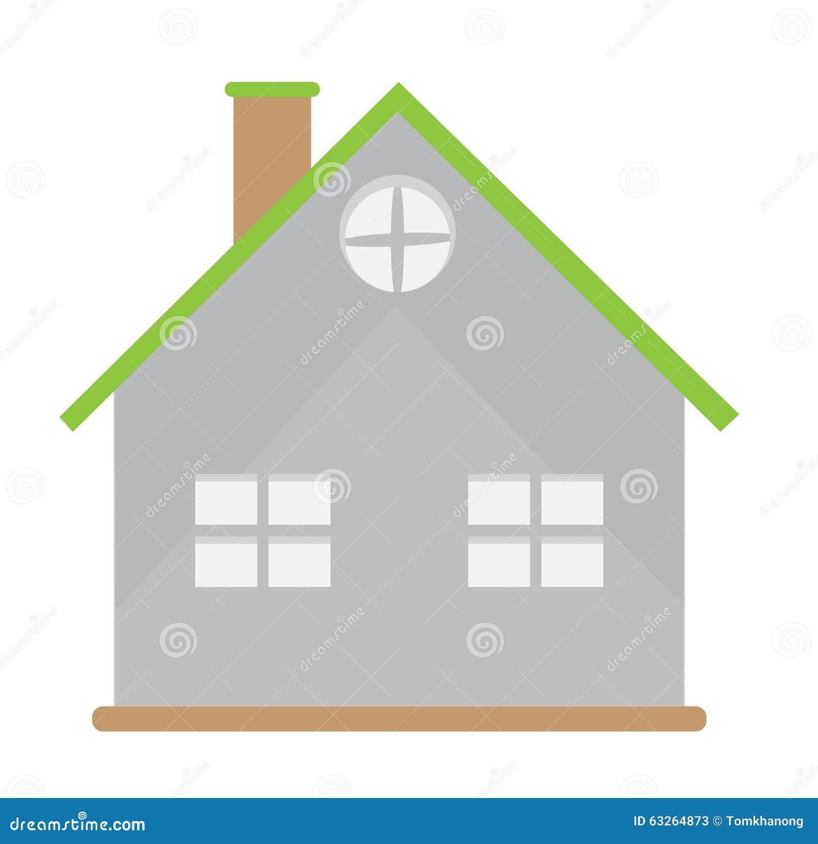 Mini conception la maison de vecteur de concept de for Conception d architecture pour la maison