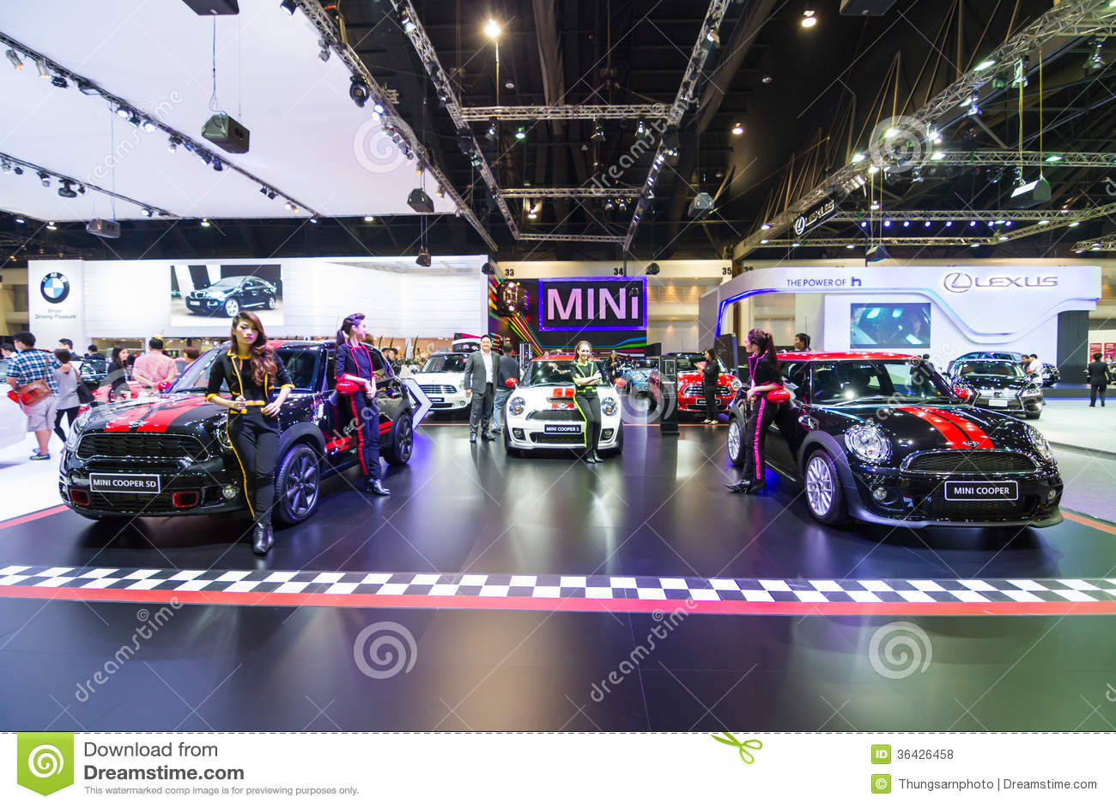Mini cooper editorial image 57457962 for Motor city mini cooper