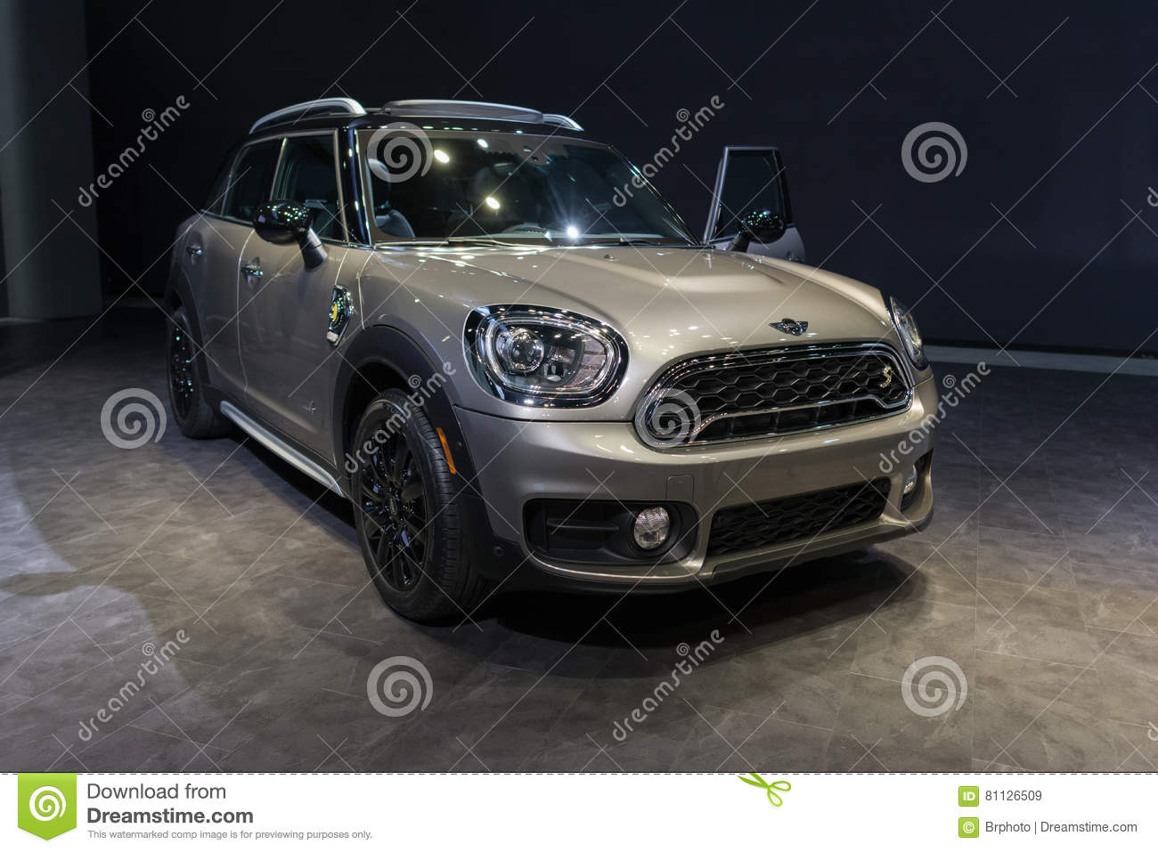 Mini Cooper Clubman S Editorial Stock Image Image Of Power 81126509
