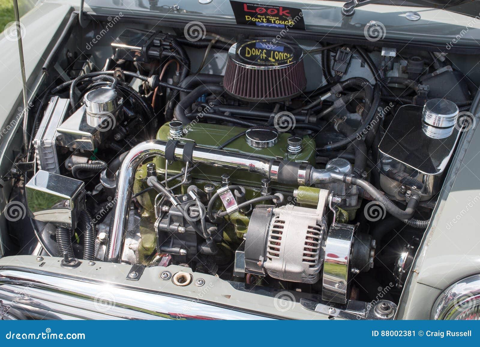 Mini Cooper Engine Editorial Photo Image Of Editorial 88002381