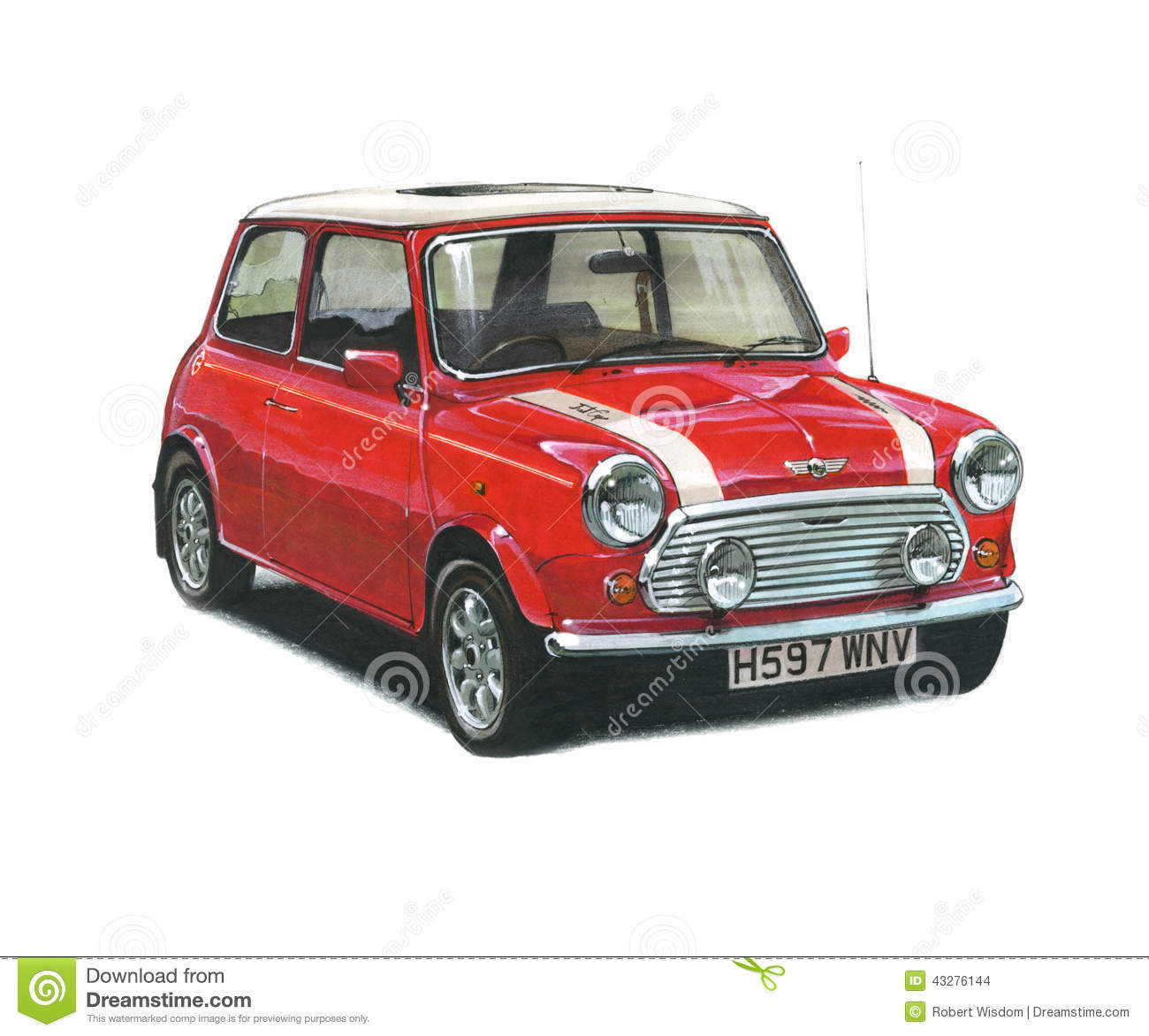 Mini Cooper Editorial Stock Image