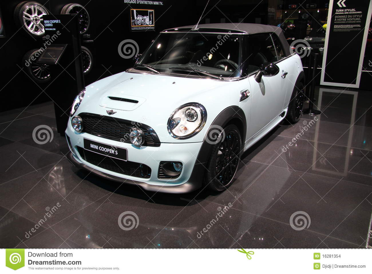 Mini Cooper S Editorial Stock Image Image Of Crossover 16281354