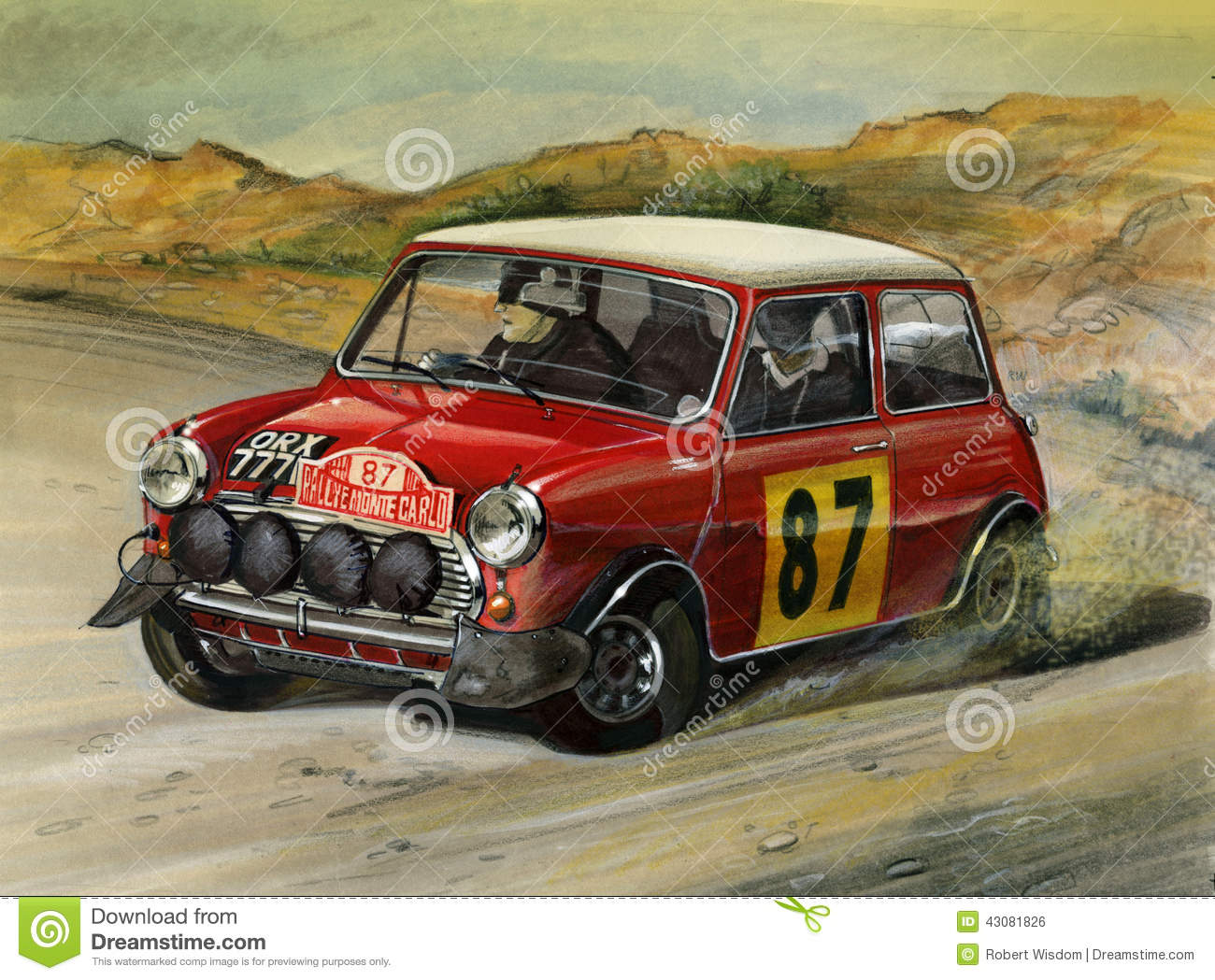 Mini Cooper S Monte Carlo Rally 1964 Editorial Photo - Image: 43081826