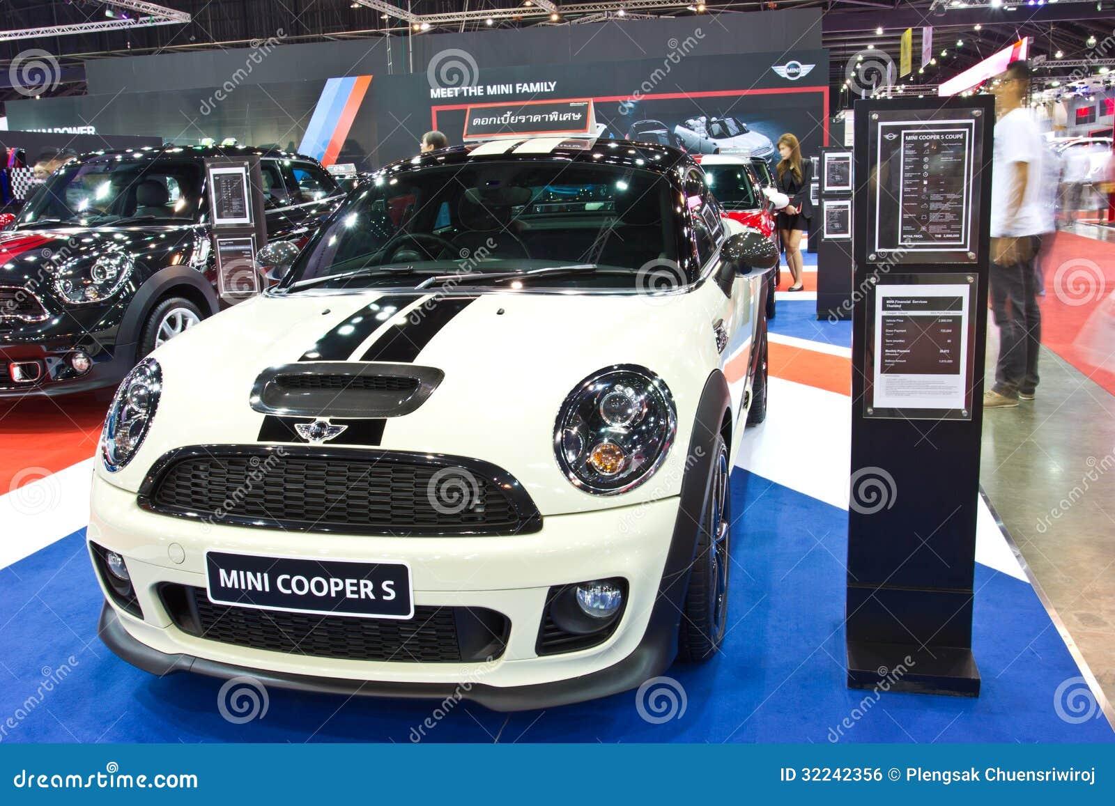 Mini Cooper Accessories 2013 >> Mini Cooper S Show At The Second Bangkok International Auto