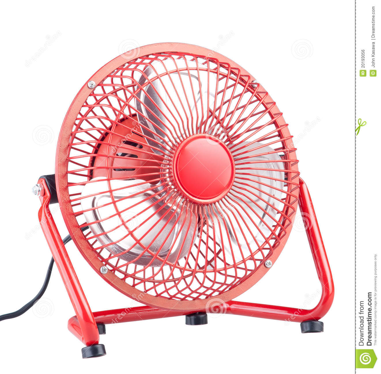 Mini Electric Fans : Mini electric fan stock photo image of blow blower