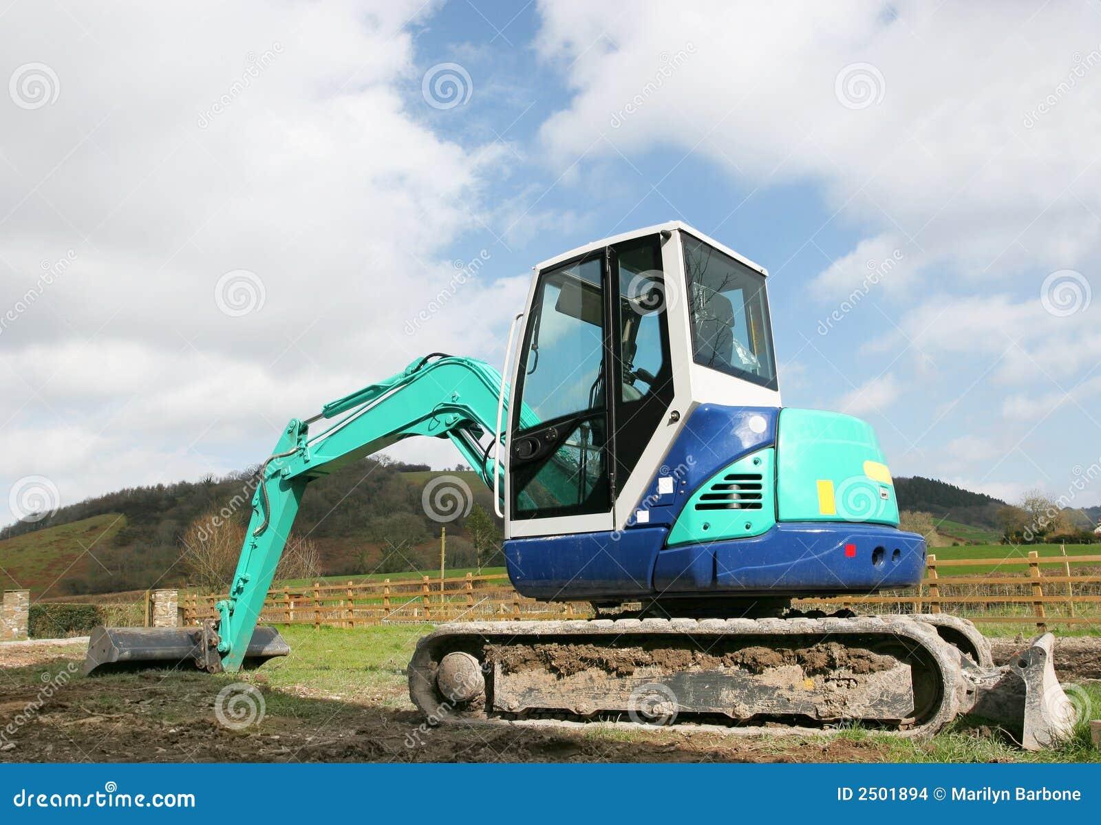 Mini escavador