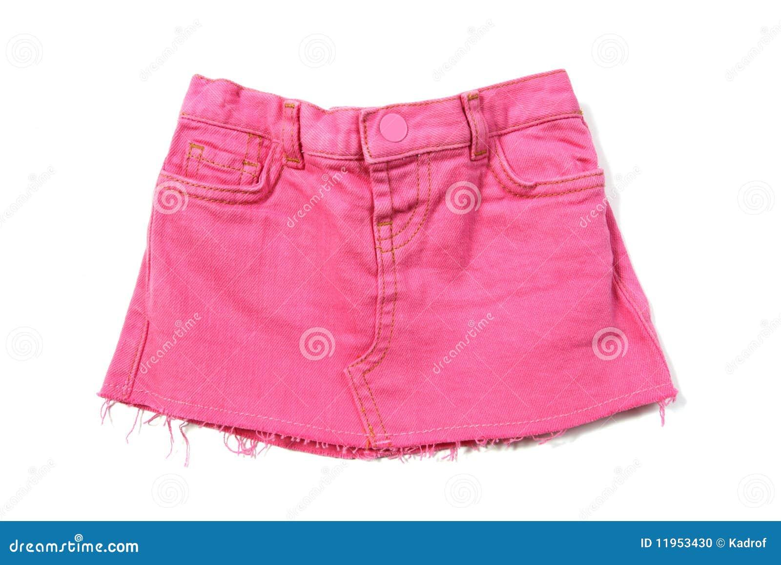 Falda de cama rosada