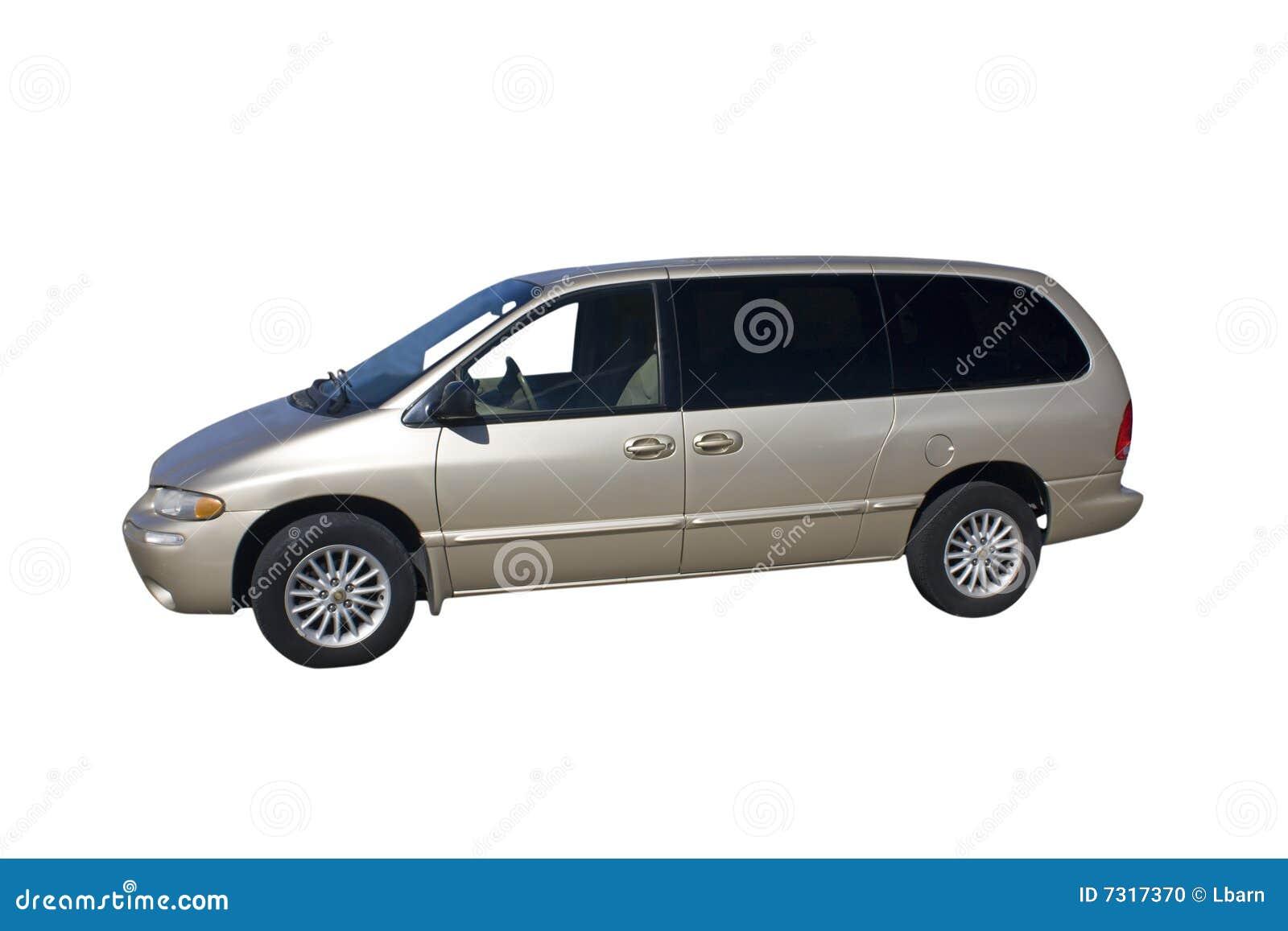 Mini furgone beige