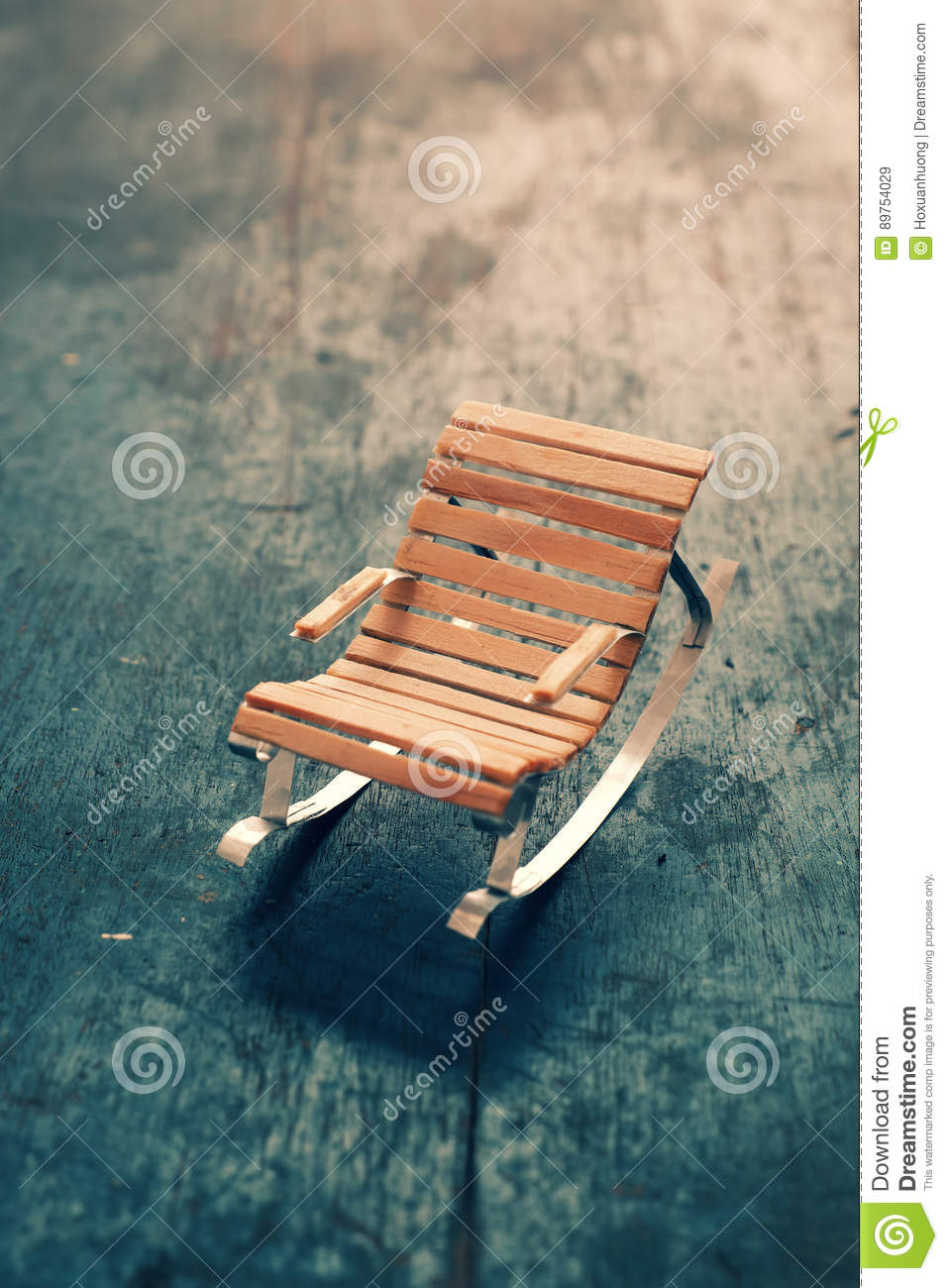 Mini Furniture, Cute Small Chair Stock Image - Image of hobby