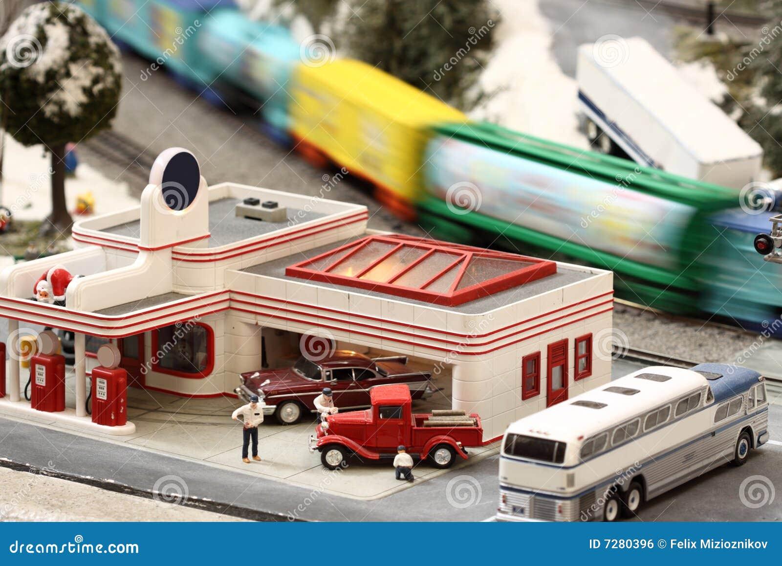 Mini gasolinera