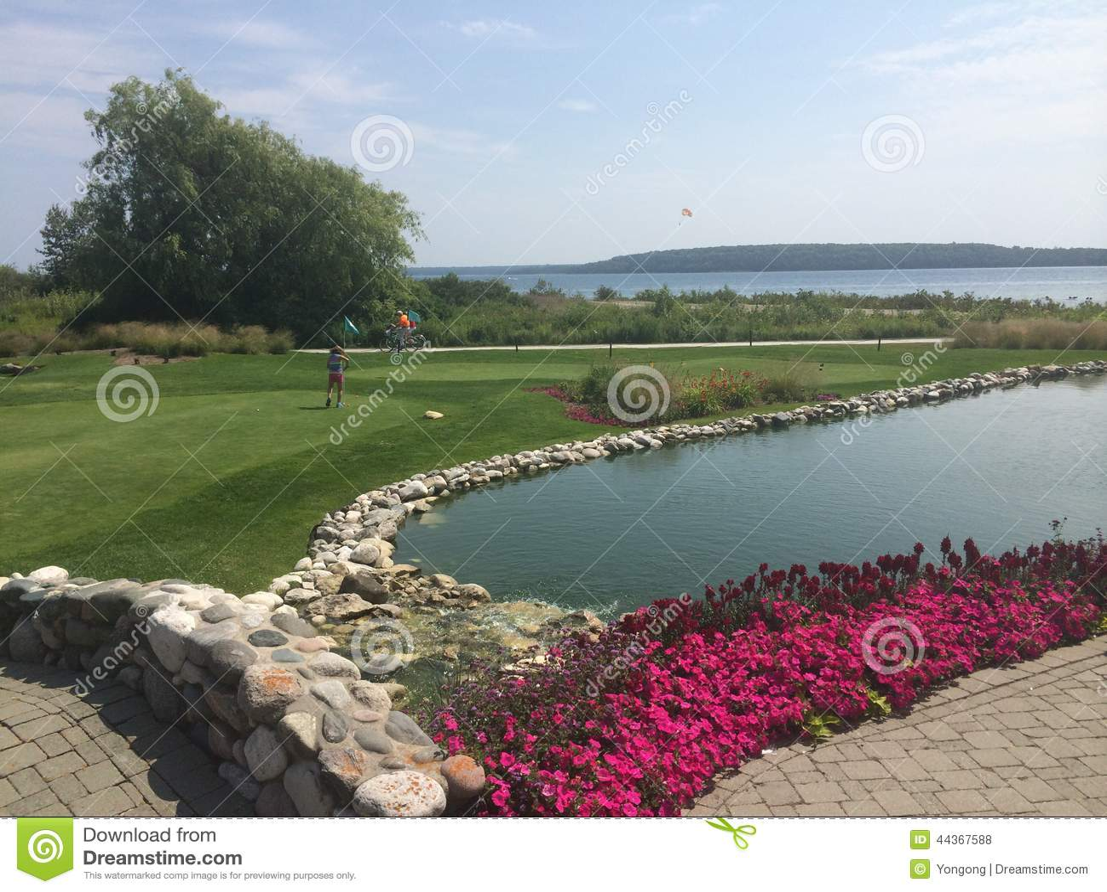 Mini golf nell isola di Mackinov