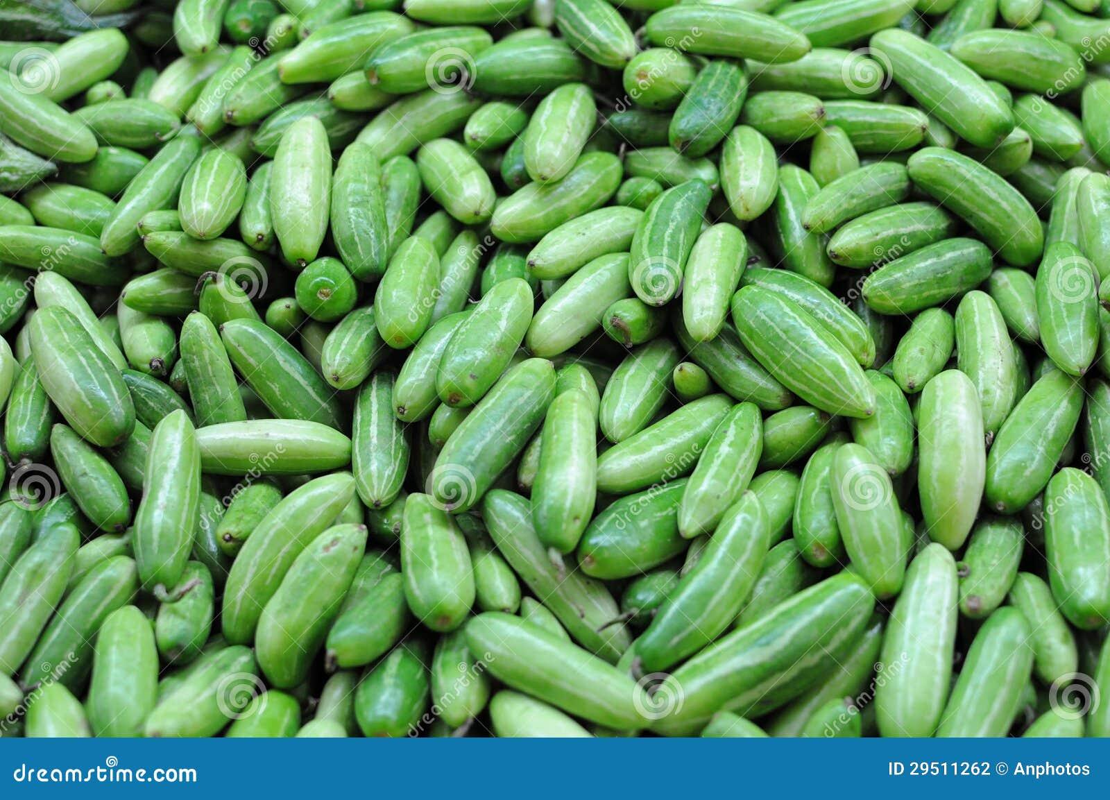 Mini groenten in het zuur