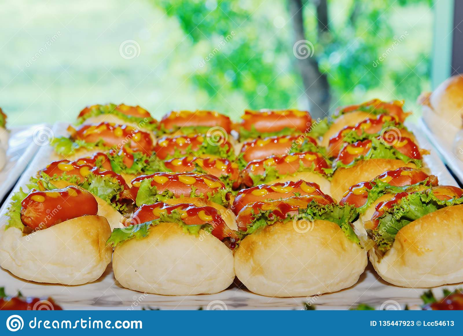 Mini Hot Dog Bread Stock Image Image Of Cuisine Mini