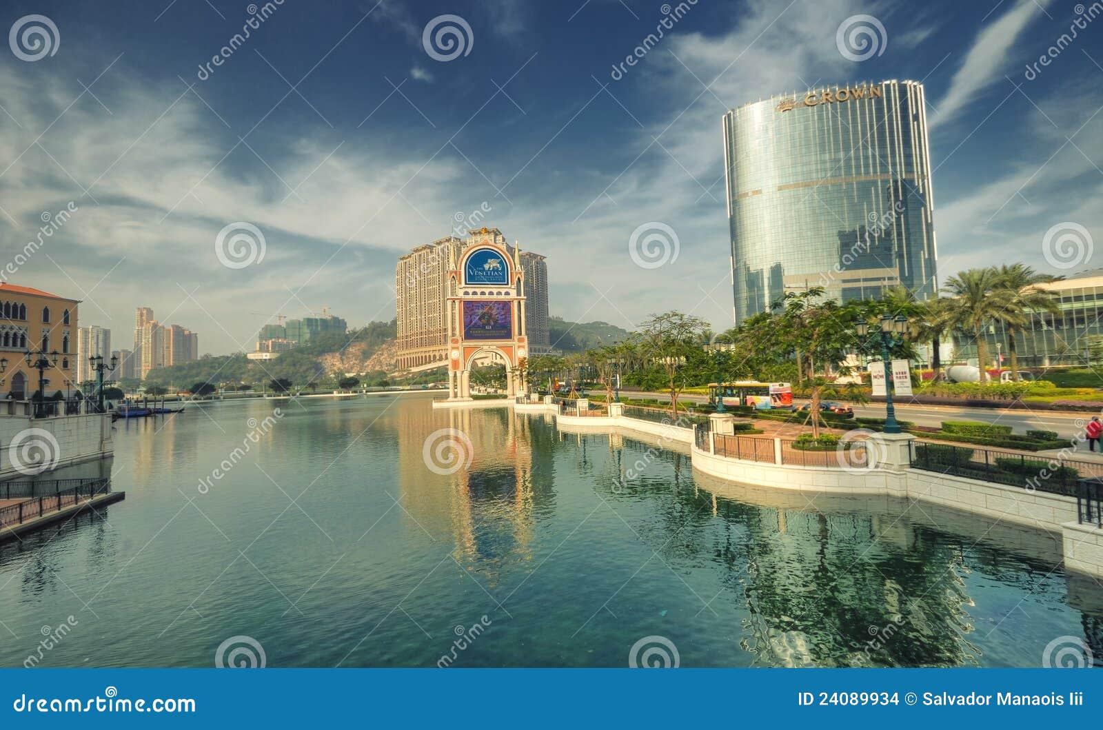 Mini-Lago Venetian do hotel, Macau