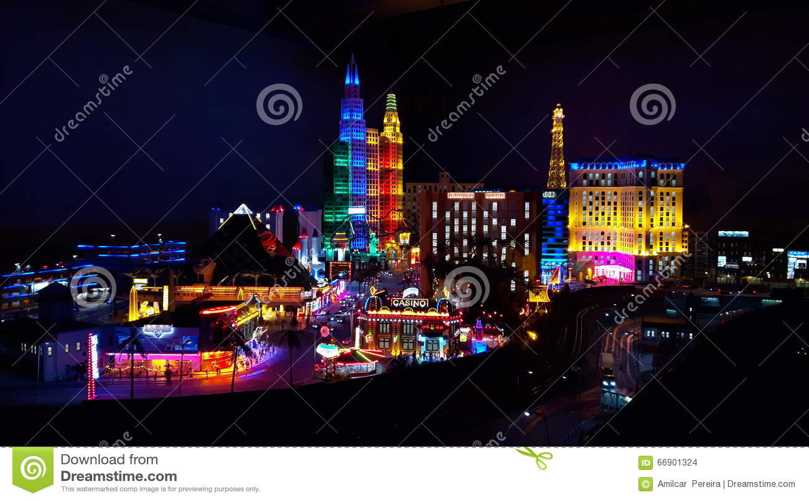 Mini Las Vegas >> Mini Las Vegas Stock Photo Image Of Vegas Replica Mini